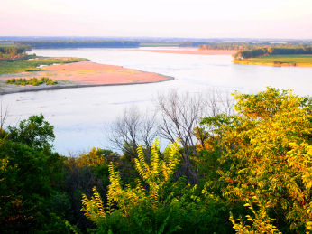 Missouri River near USD